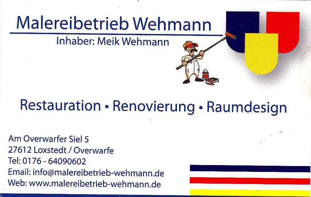 Malereibetrieb Wehmann